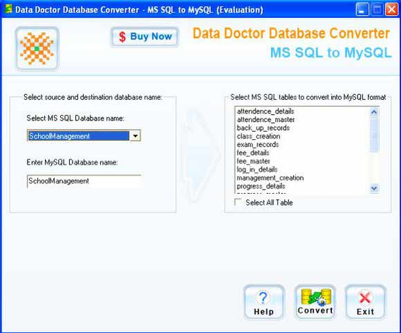 Microsoft SQL Migration Software