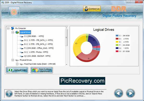 Mac Digital Picture Recovery
