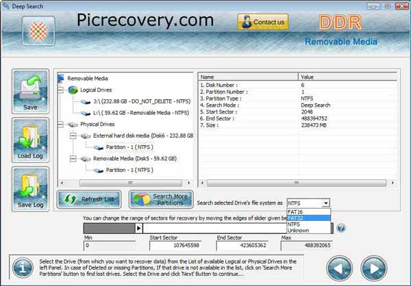 Removable Media Recovery 5.3.1.2