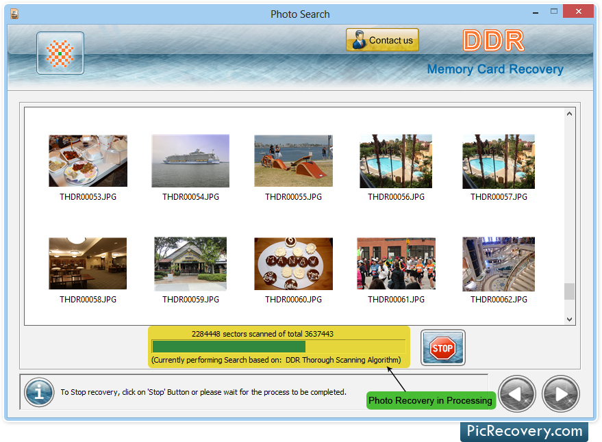 Memory Card Recovery tool recover lost photos